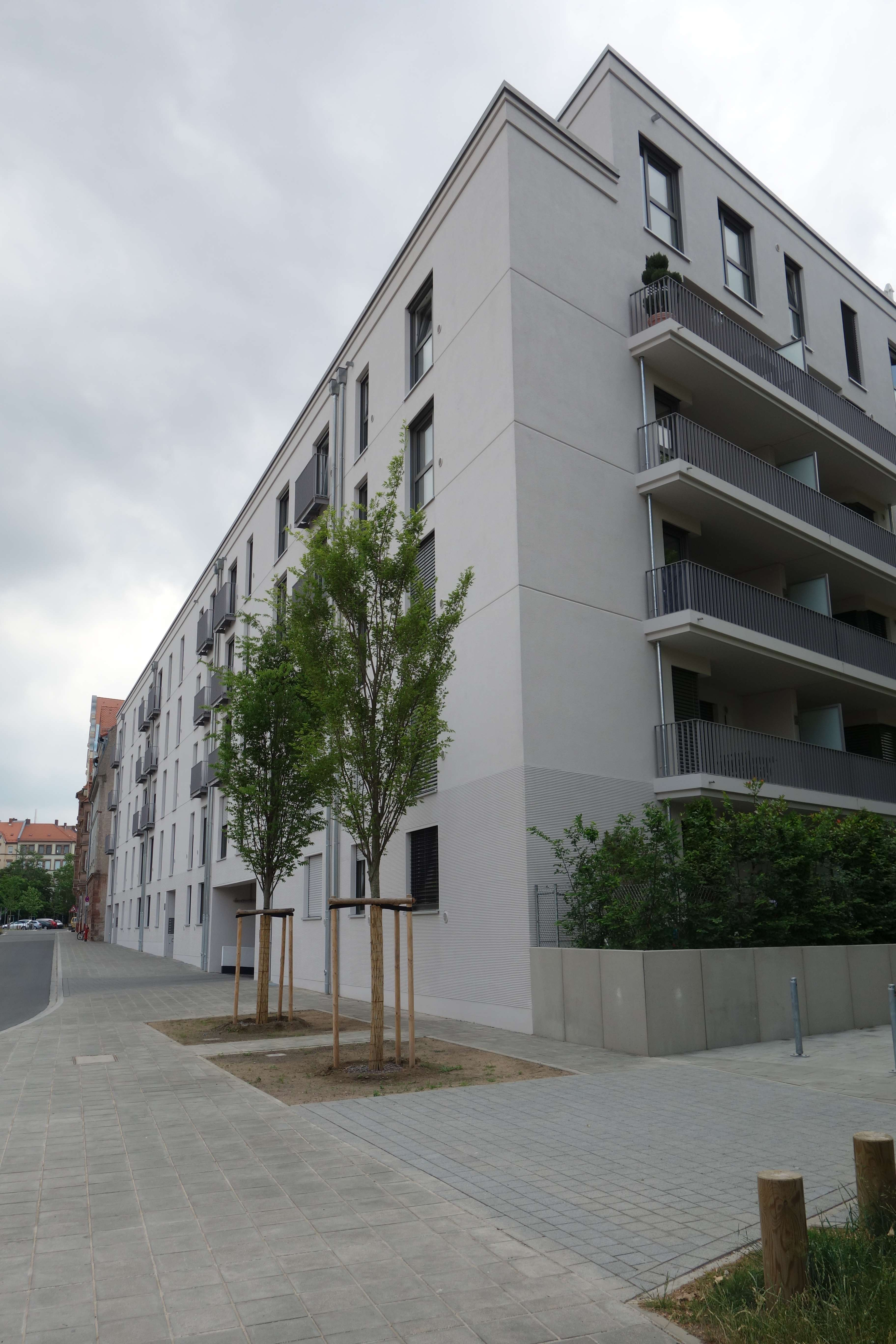 Schöne 3-Zimmer-Wohnung mit Loggia in Nürnberg - St. Johannis in Bielingplatz (Nürnberg)