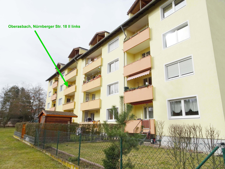 Schöne und ruhige, frisch renovierte vier Zimmer Wohnung in Oberasbach OT-Altenberg (LKS Fürth) in Oberasbach