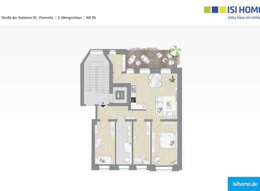 Traumhafte 4 Raum Wohnung in Schlosschemnitz