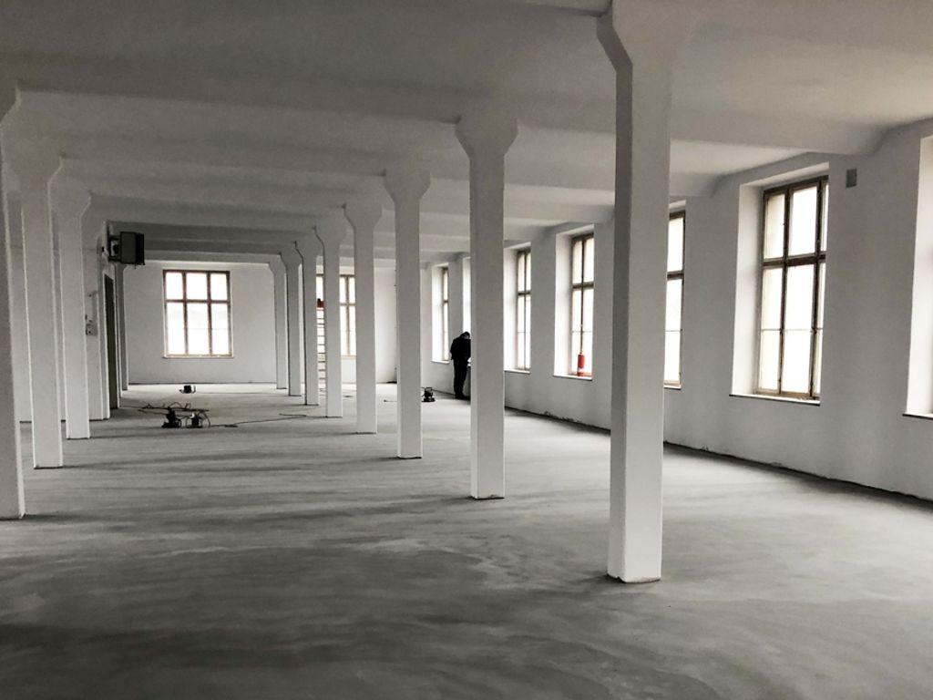 Sanierte Hallenflächen