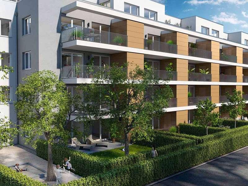 !Baustellenbesichtigung Samstag 10 – 12 Uhr! Großzügige 3-Zimmer-Wohnung mit Balkon