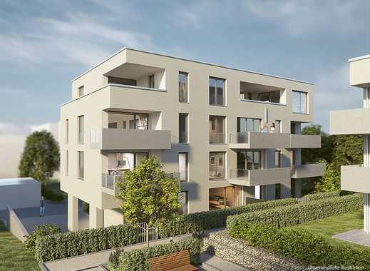 Urban in ruhiger Lage: 3-Zi.-Dachgeschosswohnung mit Barrierefreiheit, 2 Bädern & Süd-Loggia