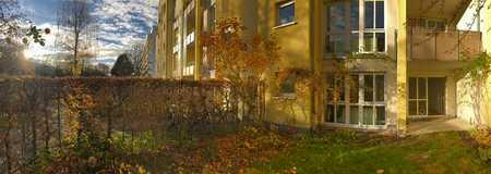 Schöne und ruhige zwei Zimmer Garten-Wohnung in München, Schwabing in Schwabing (München)
