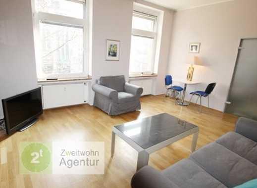 Möblierte 2-Zimmer-Wohnung + WLAN! Düsseldorf-Altstadt, Heinrich-Heine-Allee
