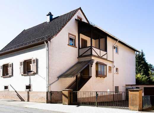 KL Erfenbach   Freistehendes Zweifamilienhaus Mit Garage Und Schönem  Grundstück (sep. Bauplatz Mgl