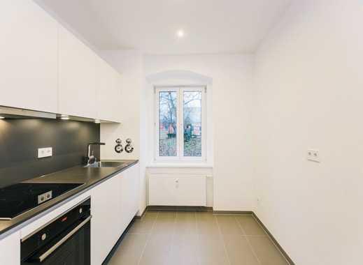 2 Zimmer Wohnung mit Parkett und Einbauküche