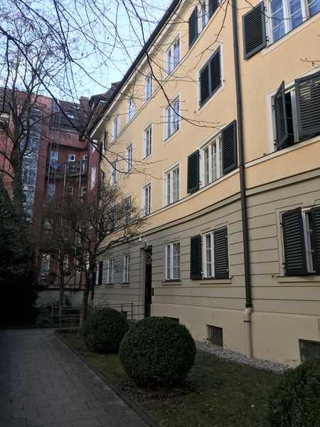Optimal geschnittene 4-Zimmer Altbauwohnung in Schwabing in Schwabing (München)