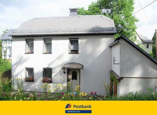 Kleines Haus mit hübschem Grundstück