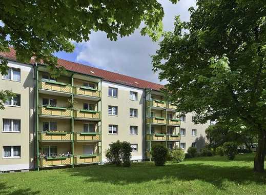 Sanierte 3 R.-Wohnung in guter Wohnlage mit viel Grün!