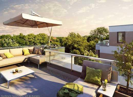 3,5 Zimmer Penthousewohnung Mit Umlaufender Dachterrasse Und Ankleidezimmer