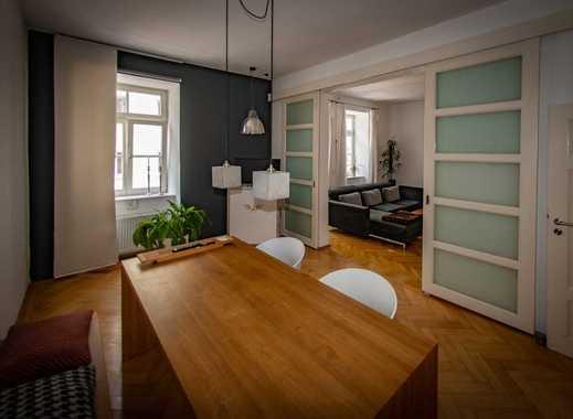 Repräsentative Designerwohnung  mit exklusiven Ausbauten in München, Maxvorstadt