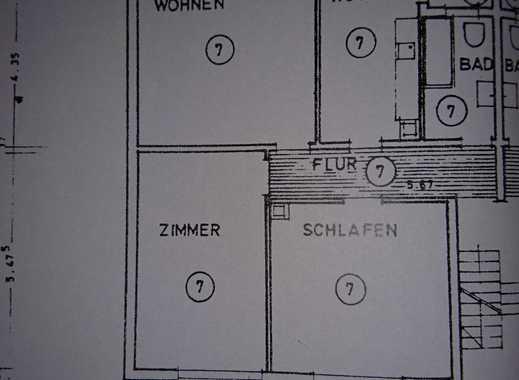 Gepflegte 3-Zimmer-Erdgeschosswohnung mit Einbauküche in Rheinstetten