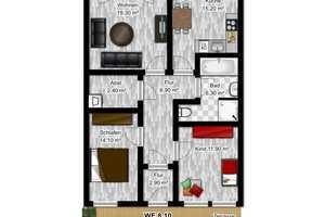 3 Zimmer Wohnung in Berlin