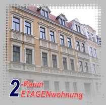 Halle nser Wohnung gesucht 2-Raum-ETAGENWohnung