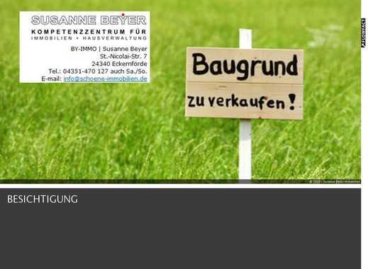SUSANNE BEYER BIETET AN: Baugrundstück - Haby bei Eckernförde