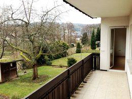Blick vom Balkon Richtung Süd