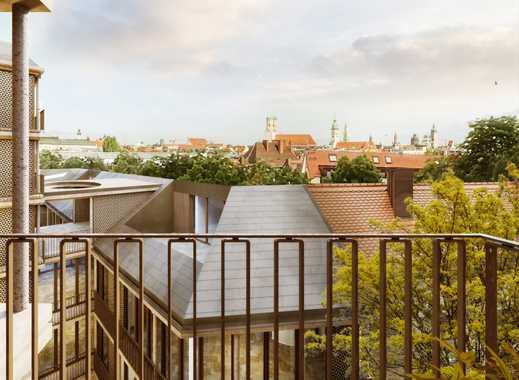 4-Zimmer-Dachterrassen-Wohnung mit Isar- & Innenstadtblick