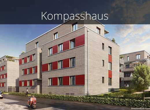 Geräumige 3-Zimmer-Wohnung mit Ankleide, Tageslichtbad en Suite und idyllischer Terrasse