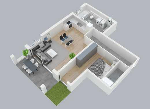 Gehobenes Wohnambiente - Neubau-2-Zimmerwohnung an den Obernauer Mainhöhen