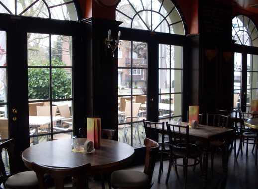Bistro-Restaurant mit Terrasse, ca. 80 + 45 Plätze möglich, mit kleine Wohnung