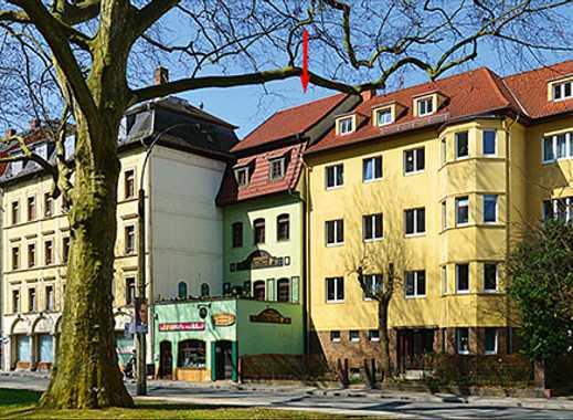 Vermietetes Gewerbeobjekt in Altenburg (nahe des Schlosses)