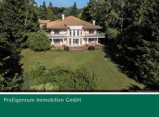 Bestlage Grünwald: exklusive Liegenschaft auf ca. 3.600 m² Parkgrundstück