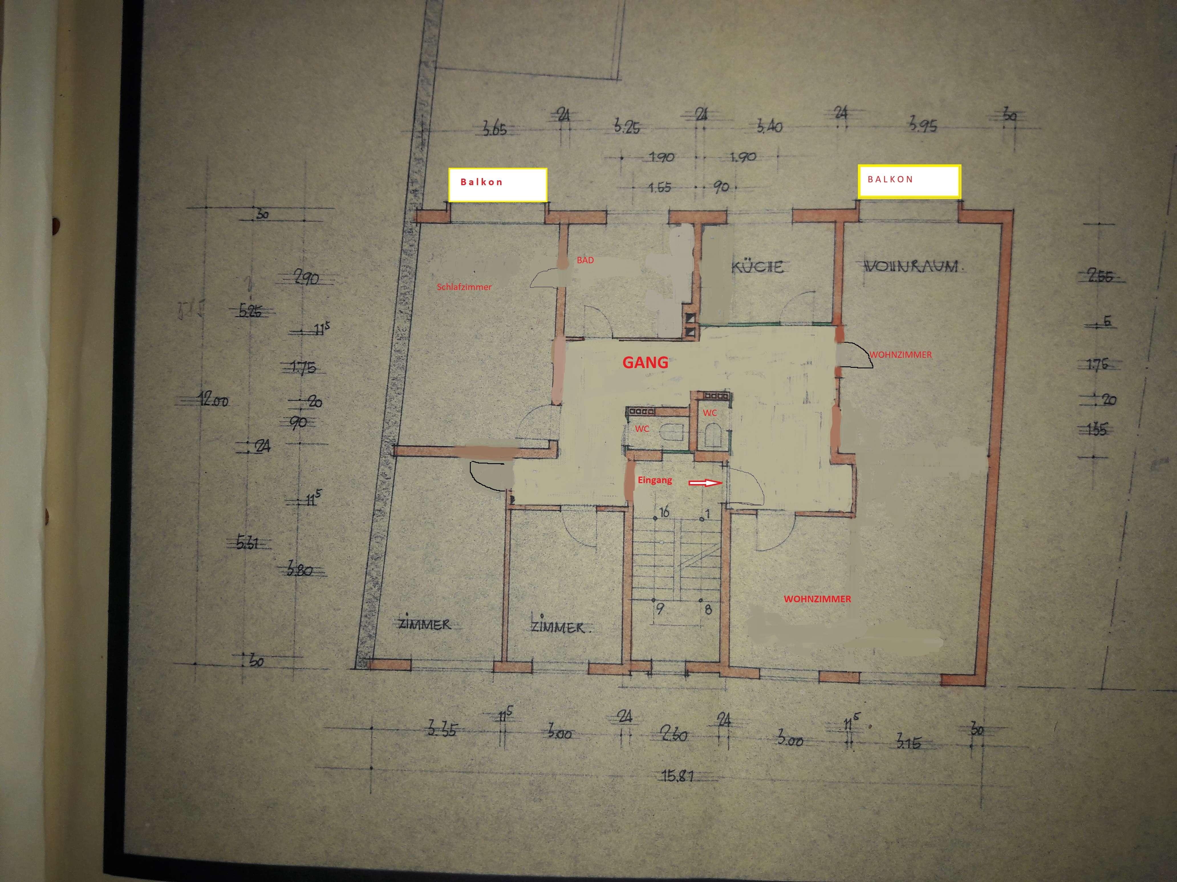 Erstbezug nach Sanierung: ansprechende 4-Zimmer-Wohnung mit 2  Balkonen in Nürnberg