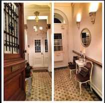 Exklusive 2-Zimmer-Hochparterre-Altbauwohnung mit Balkon in