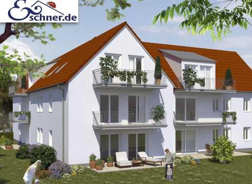 Junges Wohnen an der alten Schule: Gemütliche Neubau-Dachgeschoss-Wohnung