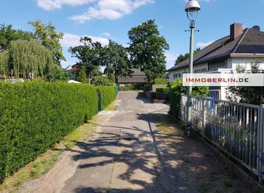 IMMOBERLIN: Baugrundstück in perfekter ruhiger Südwestausrichtung