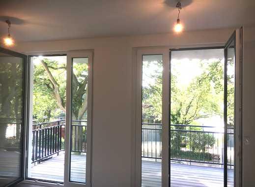 Gehoben ausgestattete Wohnung mit zwei Balkonen. In attraktiver Lage. Mit optimaler HVV-Anbindung.
