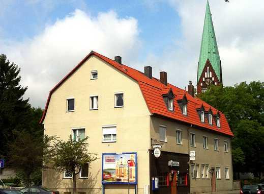 Erstbezug nach Sanierung: Richtig schöne 4 Zi.-Wohnung neue EBK, neues Bad, neue Holzböden.