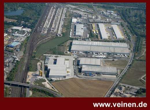 moderne Logistikfläche am Güterverkehrszentrum