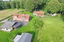 landwirtschaftlicher Resthof - mit Pferdeboxen Wald