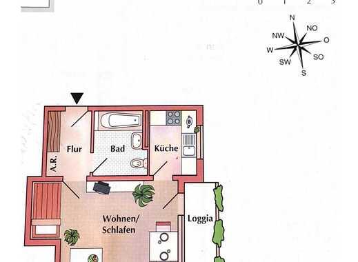 Anderten: Schöne 1 Zimmer Eigentumswohnung in zentraler Lage!