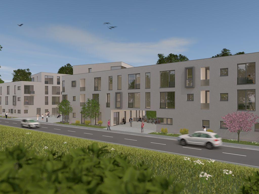 Exclusives 1-Zimmer-Apartment Neubau Wohnen am Hubland Würzburg