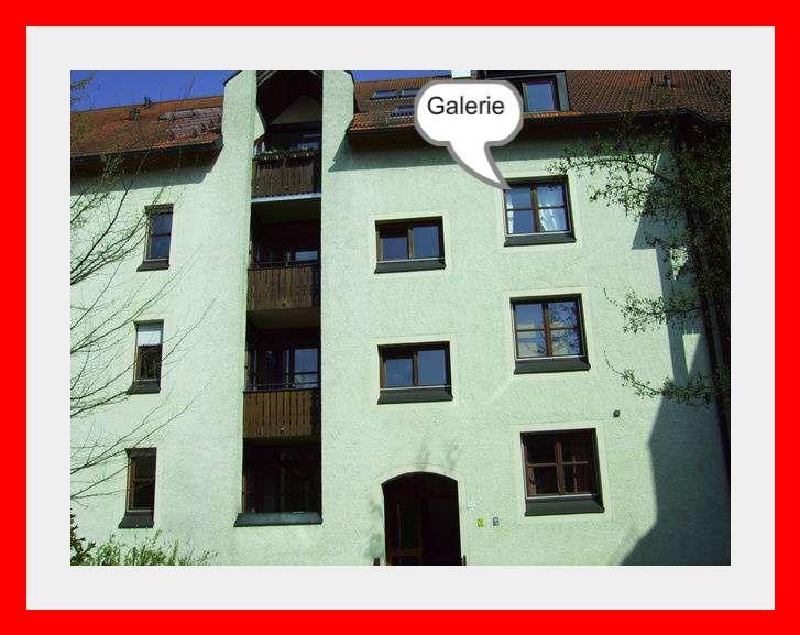 1,5 Zimmer-Galeriewohnung mit EBK in Regensburg-Uni in Kumpfmühl-Ziegetsdorf-Neuprüll (Regensburg)
