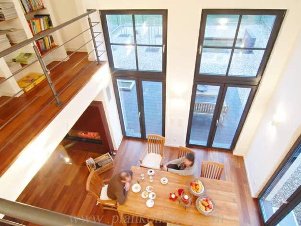 H a b e n s i e m u t modernes haus in stiepel weitmar for Modernes haus wohnzimmer