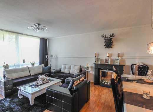 REUTER IMMOBILIEN Helle, gutgeschnittene Dreizimmerwohnung mit Sonnenbalkon in schöner Wohnlage