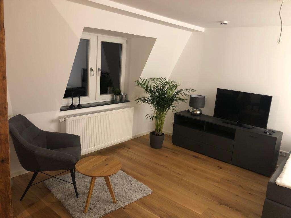 Exklusive 1-Zi-Wohnung in der Fürther Altstadt! Vollständig möbliert in Altstadt, Innenstadt (Fürth)