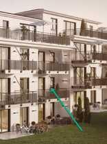 Neuwertige 3-Zimmer-Wohnung mit zwei Balkonen und