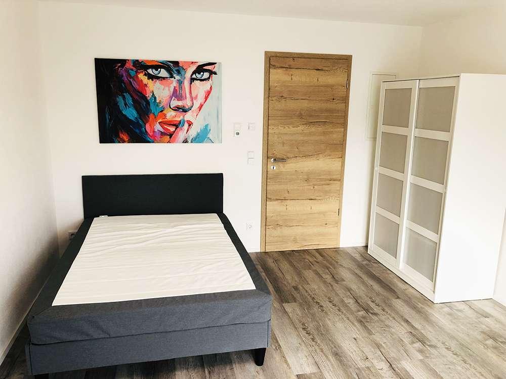 exklusives 1-Zimmer-Appartement möbiliert in Au in