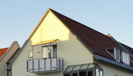 Hochwertige 2 Zimmer Dachgeschoßwohnung mit Südbalkon in Dachau