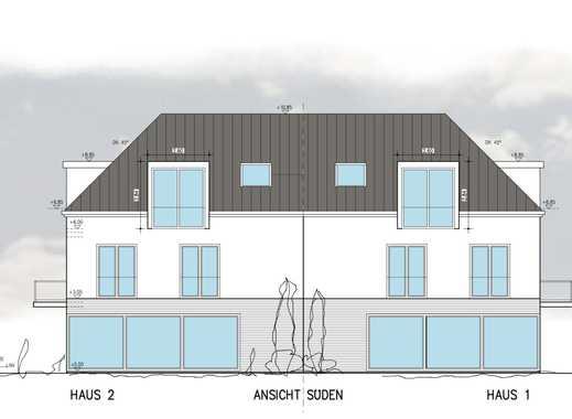 Neubau einer großzügigen Villenhälfte in Bestlage von Obermenzing. Haus 2