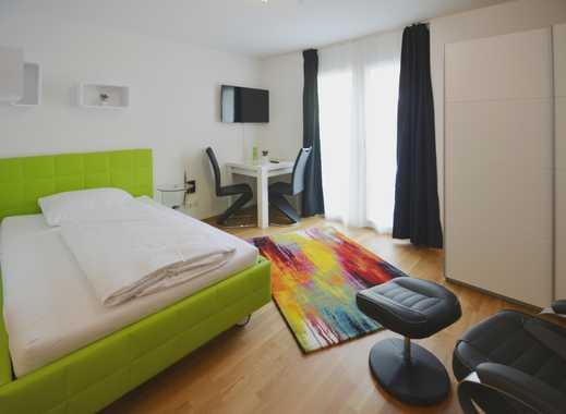 vom Alltag entspannen - gemütlich im komplett möbliertes Apartment mit Terrasse