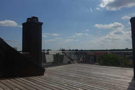 Traumhafte Dachterrasse - Maisonette - offener Wohn-/Küchenbereich - 2 Bäder - Atelierzimmer in Schwabing (München)