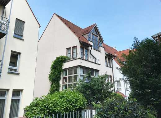 Helles und freundliches Haus mit kleinem Garten in der Ulmer Altstadt