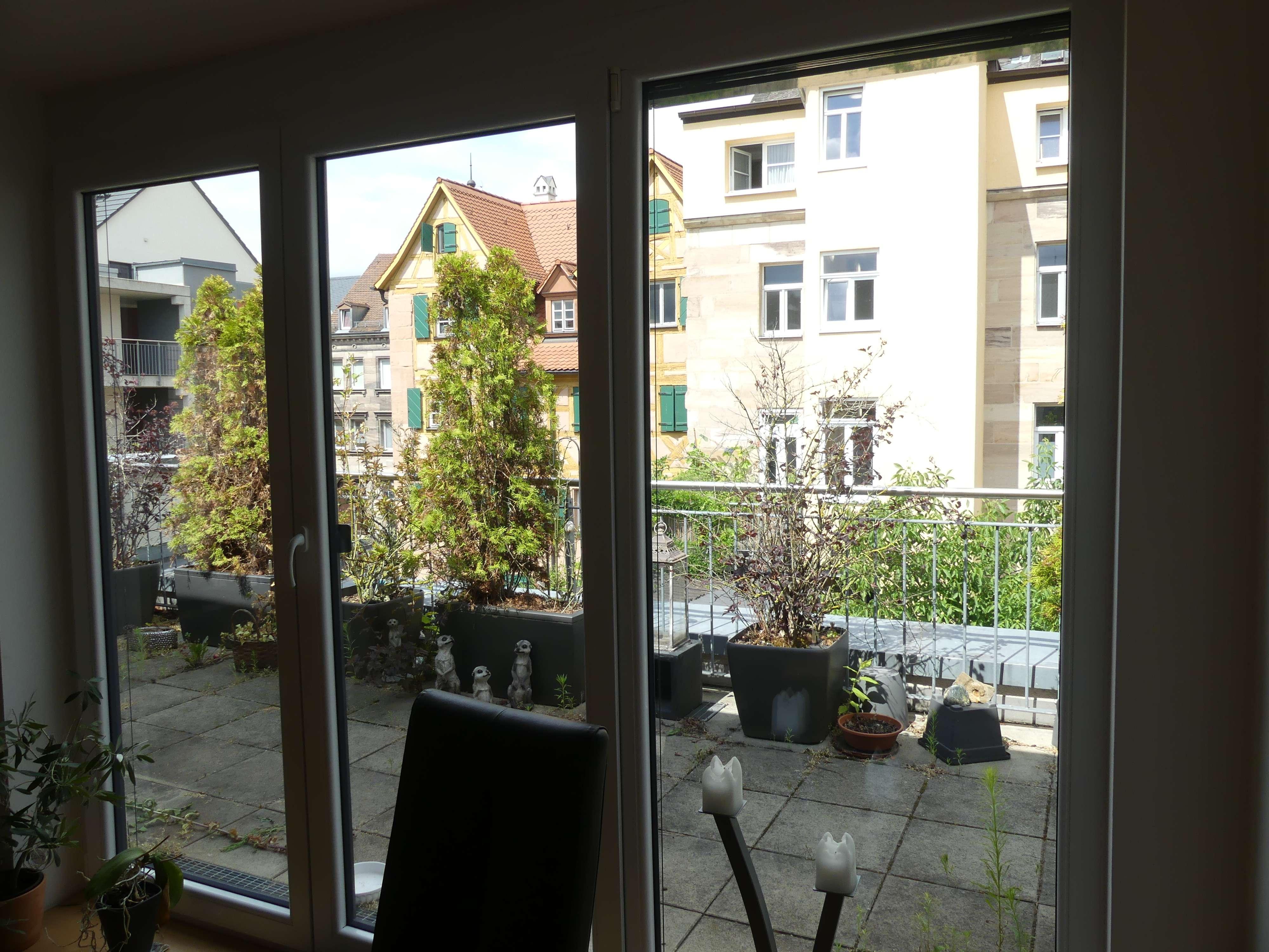3 Zi TOP Whg mit  Dachterrasse,  fast Neubau im historischen Kern von Fürth in Altstadt, Innenstadt (Fürth)