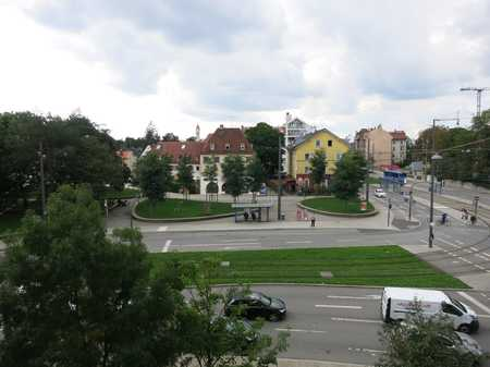 Pasing am Knie 1 Zi.-Whg. m. sep. Küche m. EBK u. West-Balkon in Pasing (München)