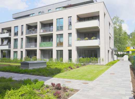 Exklusive, neuwertige 3-Zi.-Wohnung mit Loggia und 2. Balkon und EBK in Bramfeld/Barmbe , Hamburg